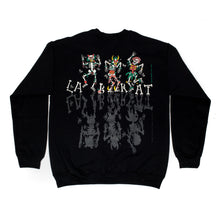 Load image into Gallery viewer, Labrat Electromagnetic Skull Crewneck Black