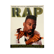 Ley Book Archive: RAP - PORTRAITS AND LYRICS OF A GENERATION OF BLACK ROCKERS