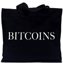 Load image into Gallery viewer, IDEA BITCOINS TOTE BAG