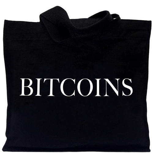 IDEA BITCOINS TOTE BAG