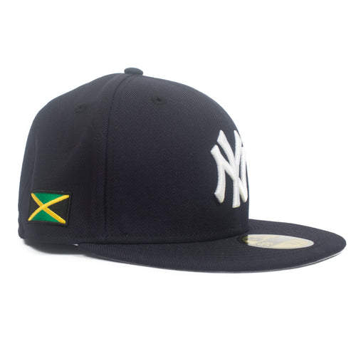 Jamaican Flag Yankees Fitted