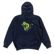 "Load image into Gallery viewer, Better™ ""Il Diavolo Dentro"" Navy Hoodie"