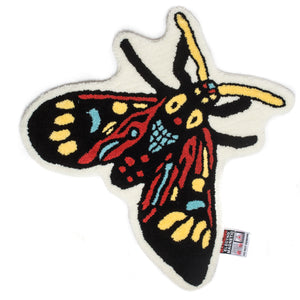 "Better™/Electro Magnetic ""Moth"" Rug"