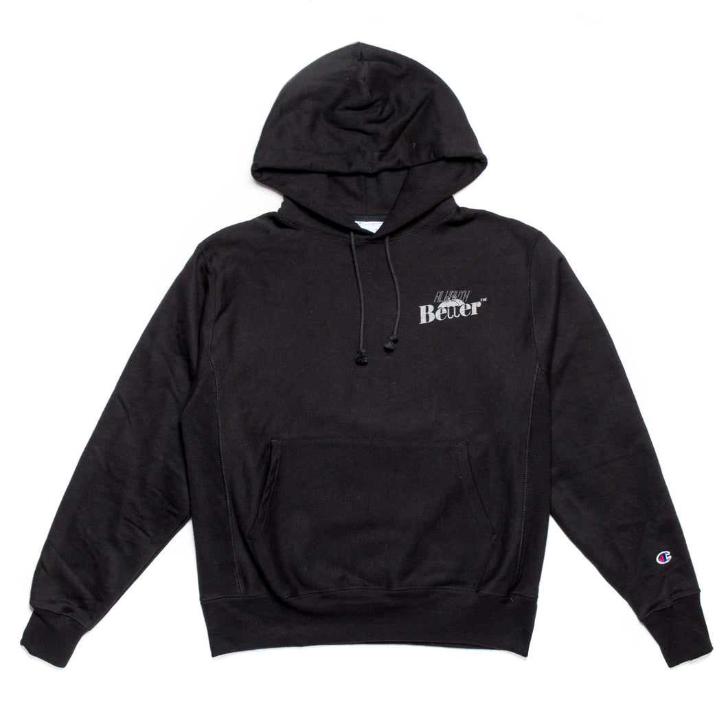 ALWAYTH/Better™ Reverse Weave Champion Black Hoodie