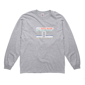 Better™Gift Shop D BRAD illustration Grey L/S tee