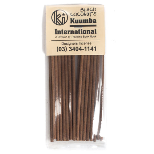 KUUMBA BLACK COCONUTS MINI INCENSE PACK