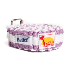 BetterTM Handwoven Belt Pink