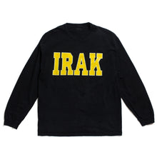 "Load image into Gallery viewer, Vintage IRAK ""Logo"" L/S Tee"