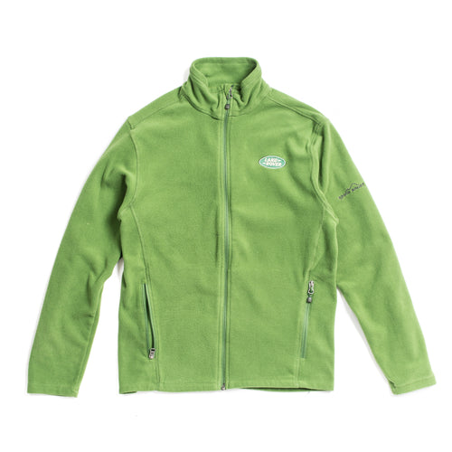 Land Rover Eddie Bauer Green Zip Sweater