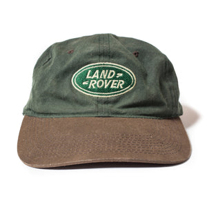 Vintage Land Rover Adjustable Hat Green