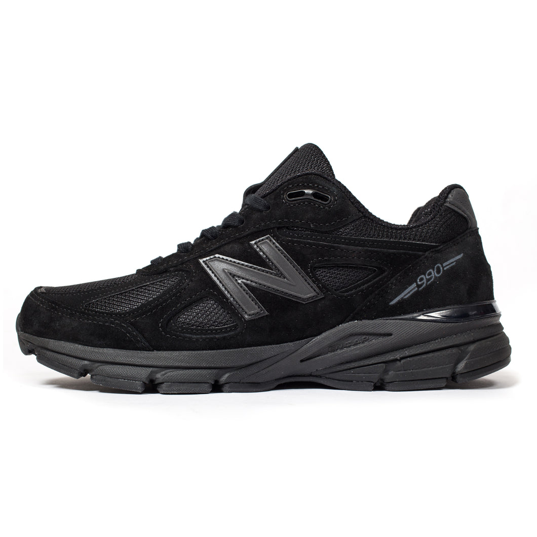 New Balance 990v4 Made In USA Triple Black
