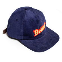 "Load image into Gallery viewer, Better™ ""Bullion Patch"" Navy Corduroy Cap"