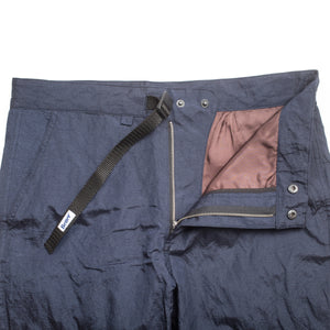 Better™ Metallic Nylon Navy Pant