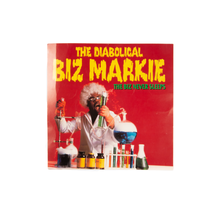 "Vintage Biz Markie  ""The Biz Never Sleeps"" Promotional Mini Poster Card"