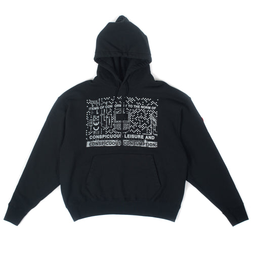 CAV EMPT -  Consumption Heavy Hoodie Black