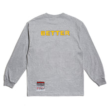 "Load image into Gallery viewer, Better™/Electro Magnetic ""Elektro"" Grey L/S Tee"
