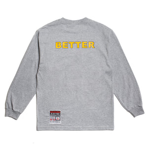 "Better™/Electro Magnetic ""Elektro"" Grey L/S Tee"