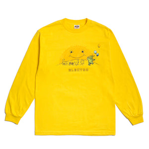 "Better™/Electro Magnetic ""Elektro"" Yellow L/S Tee"
