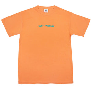 "Sci-Fi Fantasy - ""Dark Orange"" S/S Helvetica Tee"