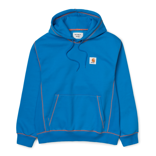 Awake NY / Carhartt WIP Sweatshirt B. Blue/ B. Orange