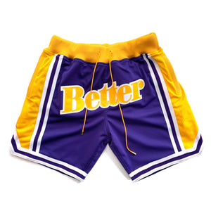 Just Better Shorts Purple