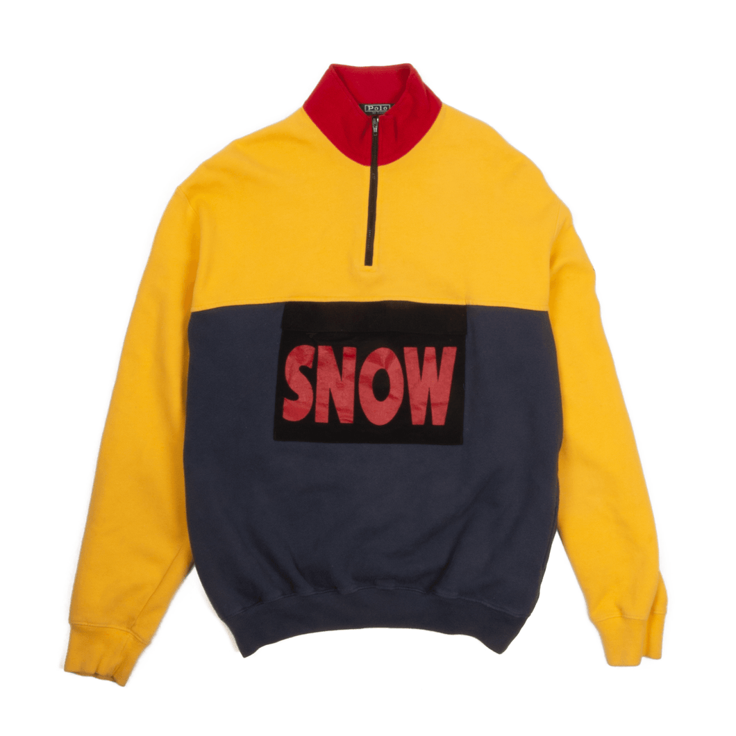 "Vintage Ralph Lauren Polo ""Snow Beach"" Pullover Sweater"