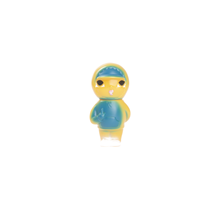 "Better™ Gift Shop - ""AGAMEX"" Vinyl Toy Blue"