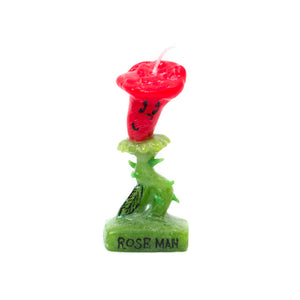 OLGA GOOSE ROSE MAN CANDLE