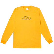 Load image into Gallery viewer, Sneeze Logo Longsleeve Gold