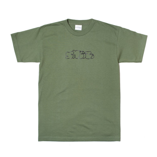 Sneeze Logo Tee Green