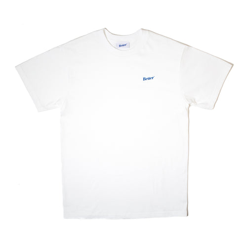 BetterTM Logo Tee White