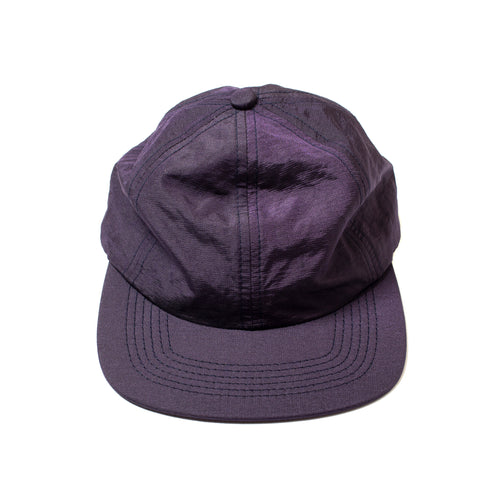 Better Metallic Nylon 6-Panel Purple