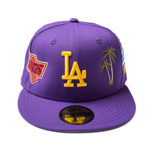 Just BetterTM Dodger Fitted (Purple)