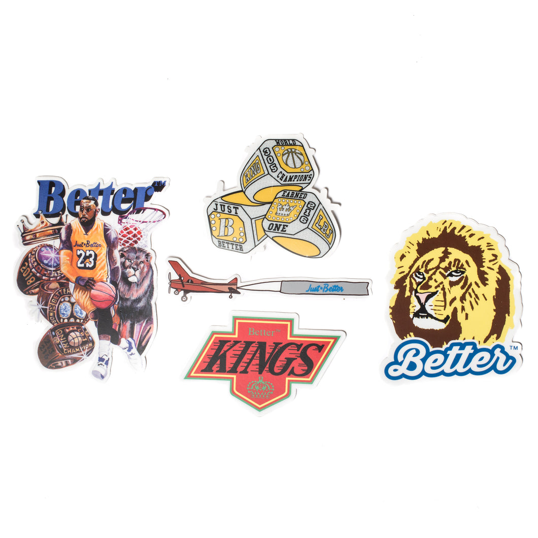 BetterTM LBJ Sticker Pack
