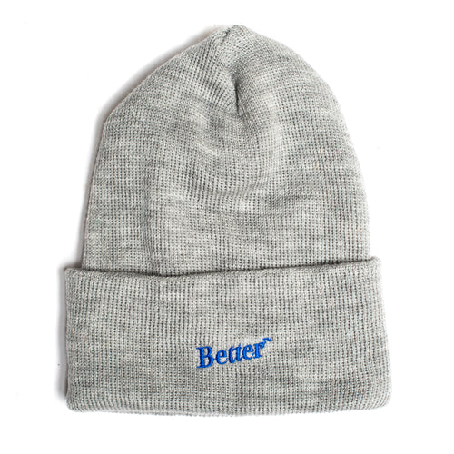BetterTM Logo Beanie Grey