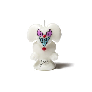 "Better™/Electro Magnetic Olga Goose ""Party Animal"" White Candle"