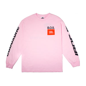 Boys Of Summer Heartbeat Longsleeve Pink Tee