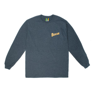 Bedlam Planet Longsleeve Tee Dark Heather