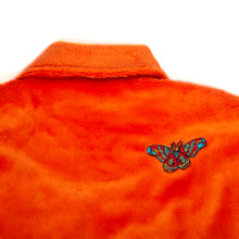 "Load image into Gallery viewer, Better™/Electro Magnetic ""Moth"" Short Pile Orange Fur Jacket"