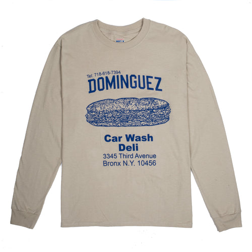 DOMINGUEZ CORP CHOP CHEESE L/S TEE
