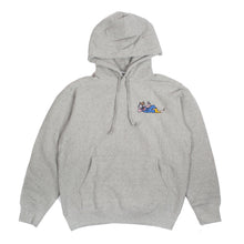 "Better™/Electro Magnetic ""Hanji"" Embroidered Heather Grey Hoodie"