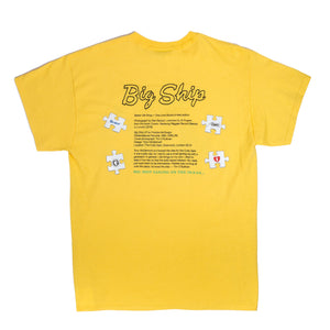 "Better™ One Love ""Big Ship"" Yellow Tee"