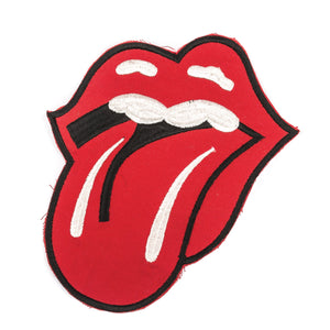 Rolling Stones Tongue Patch