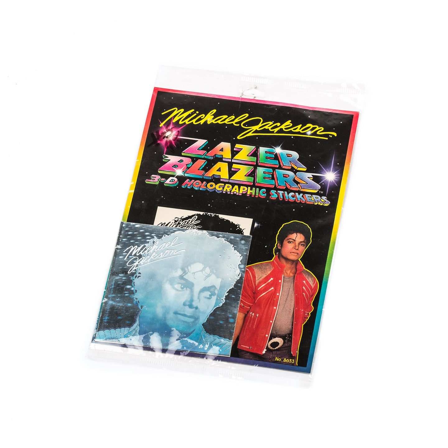 Michael Jackson Holographic Sticker