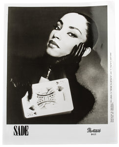 Sade Press Photograph