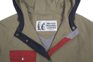 Vintage Color Block Marmot Jacket