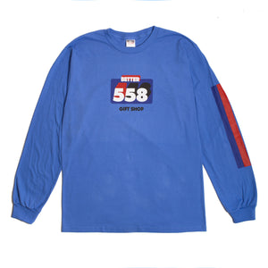 Better™ Lotto L/S Tee Blue