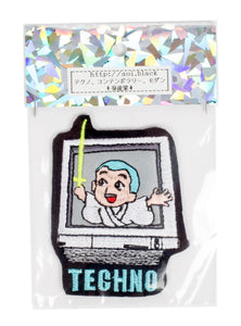 "AOI Industry Patch ""TECHNO-kun(Reflector)"""