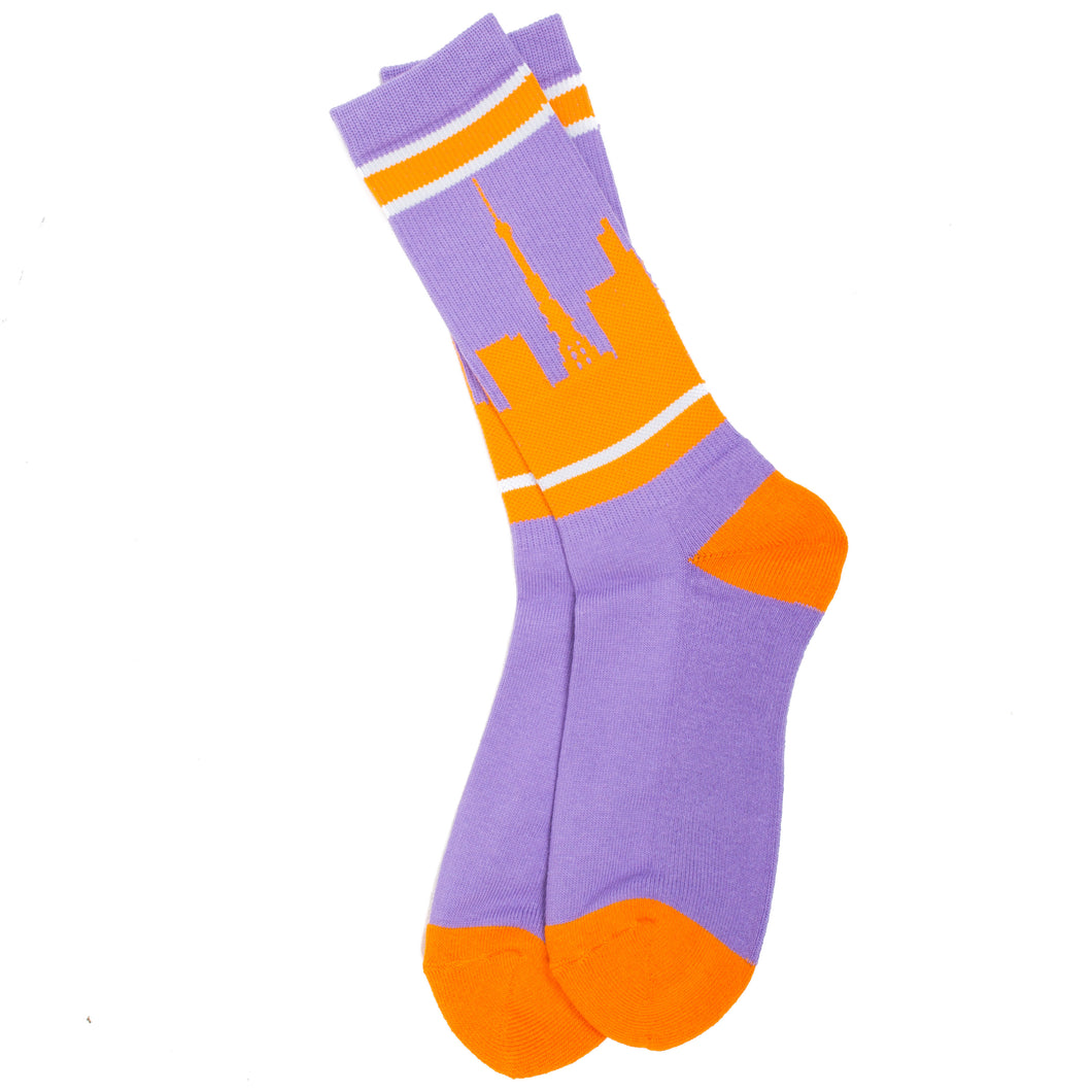 Blohm Shade Socks Purple