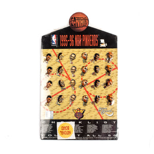 NBA 1995-96 Pin Heads Lapel Pins